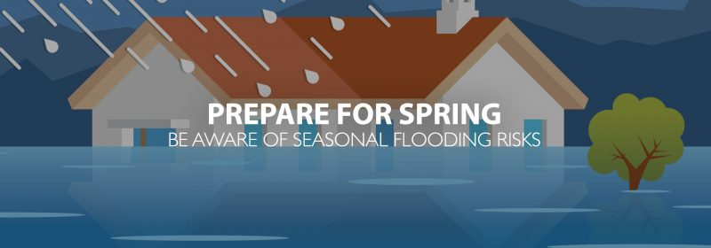 Prepare for spring flooding, here are some tips
